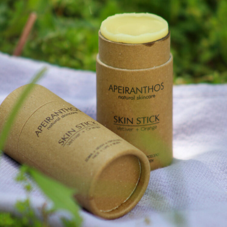 Apeiranthos Skin stick | Vetiver + Orange 30gr