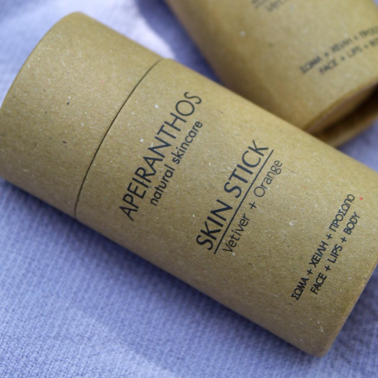 Apeiranthos Skin stick | Vetiver + Orange 30gr