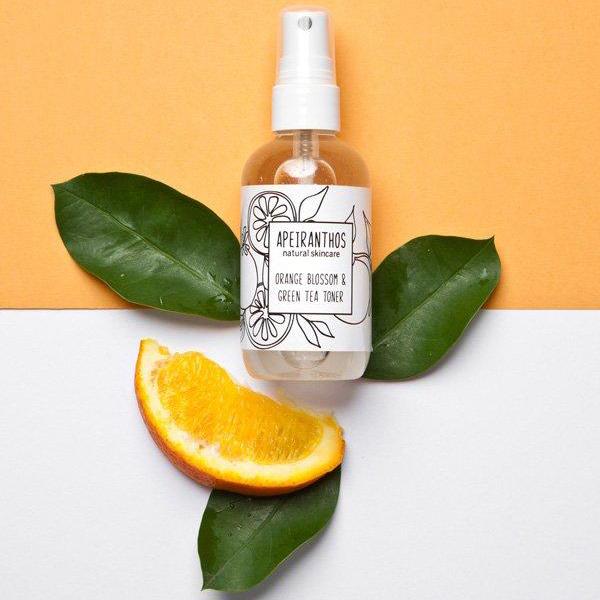 Orange toning mist | Orange blossom + Green tea 100ml