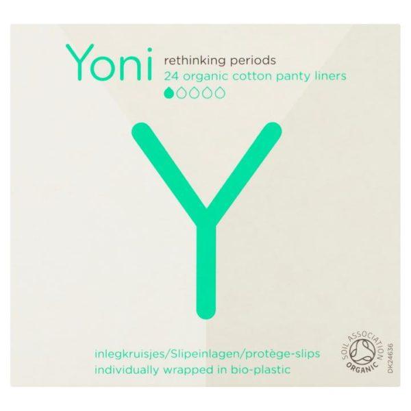 Yoni σερβιετάκια ατομικά συσκευασμένα 24τμχ