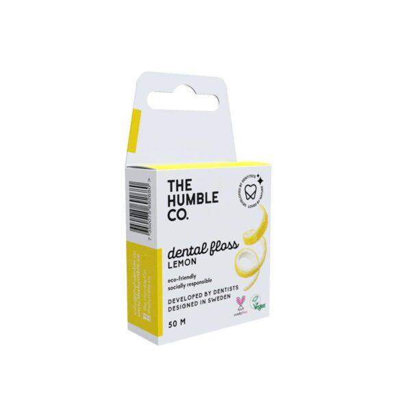 Humble οδοντικό νήμα καθαρισμού Lemon 50m