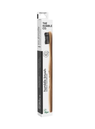 Humble οδοντόβουρτσα από μπαμπού ενηλίκων Black
