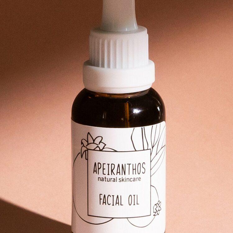 Apeiranthos Facial oil | Rosehip + Argan 30ml