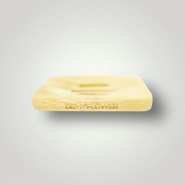 BemyFlower Σαπουνοθήκη από μπαμπού 11.8cm
