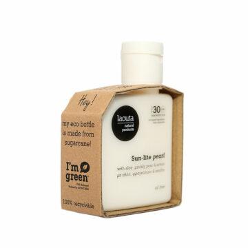 Laouta Sun-lite pearl | Αντηλιακό προσώπου oil free