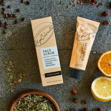 UpCircle Coffee Scrub προσώπου Citrus Blend – Για ξηρό/Αφυδατωμένο δέρμα 100ml